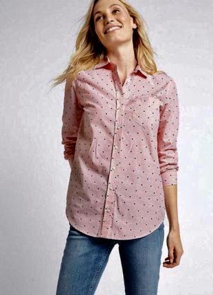 Стильная рубашка из натуральной ткани m&s