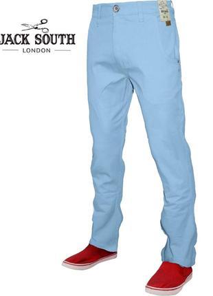 Jack south мужские брюки чинос, облегающие джинсы, эластичные прямые брюки великобритания