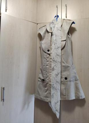 Жилет платье пиджак