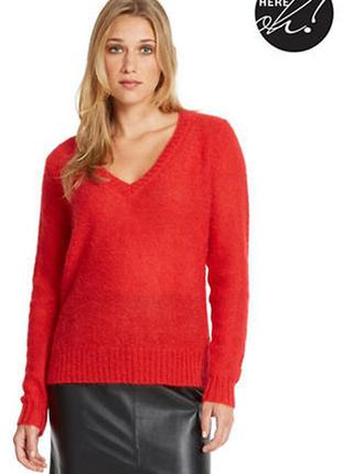 Красный свитер оверсайз next