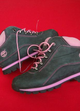 Ботинки timberland оригинал нубук 36-37 размер