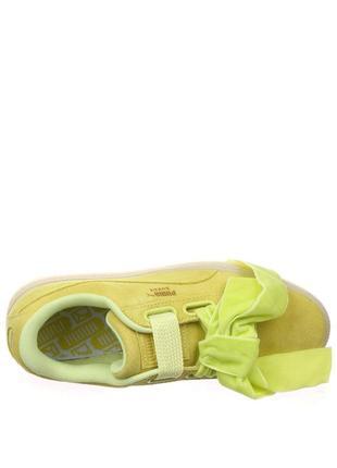 Новые женские кроссовки puma оригинал натуральная замша размер 393 фото