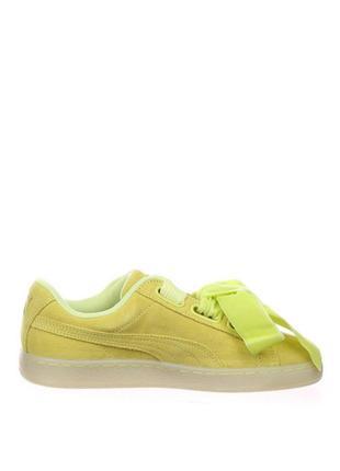 Новые женские кроссовки puma оригинал натуральная замша размер 392 фото