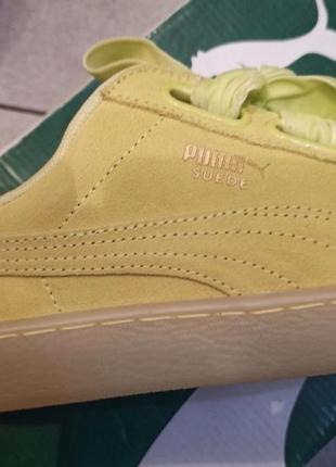 Новые женские кроссовки puma оригинал натуральная замша размер 398 фото