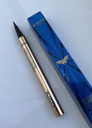 Подводка для глаз kiko milano wonder woman wonder look lasting eyemarker