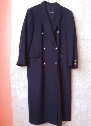 Итальянское стильное пальто шерсть кашемир модного цавета