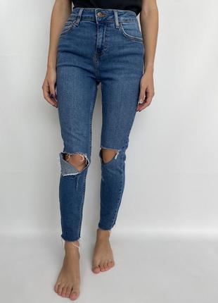 Порванные женские джинсы new look