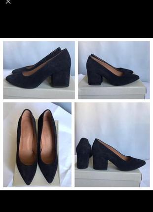 Замшевые брендовые туфли bianco (дания)