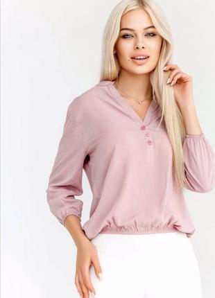 Блузка с планочкой