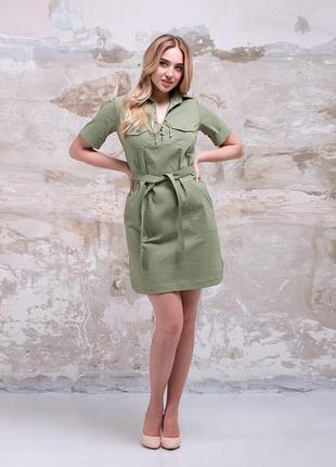 Легкое и комфортное летнее платье