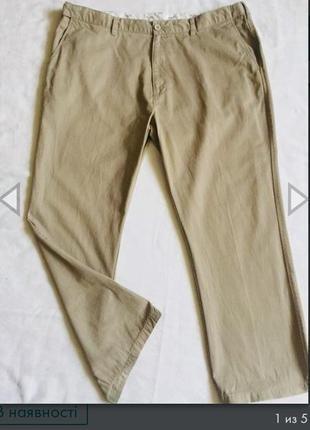 Распродажа! брюки мужские летние батал раз 3xl (58)