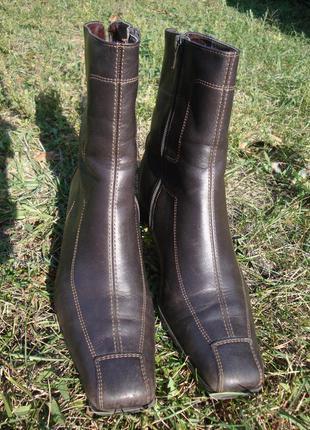 Ботинки кожа gabor
