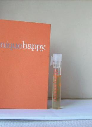 Clinique happy clinique - parfum (духи) - 1 мл. оригінал. вінтаж.