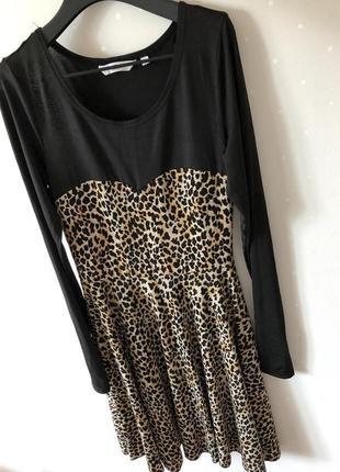 Классное легкое стильное платье леопард 🐆