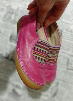 Кожаные туфли мокасины vertbaudet 25р