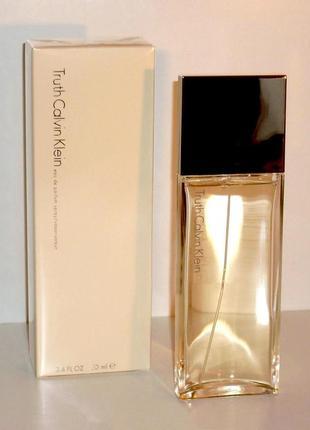 Calvin klein truth 2000 г винтаж оригинал_eau de parfum 10 мл затест