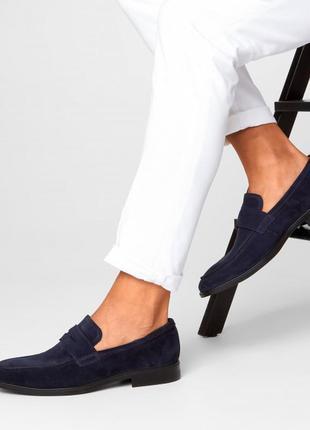 Мужские туфли, лоферы ecco оригинал