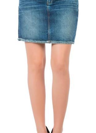 Джинсовая юбка colin's