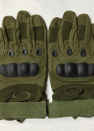 Перчатки тактические с пальцами