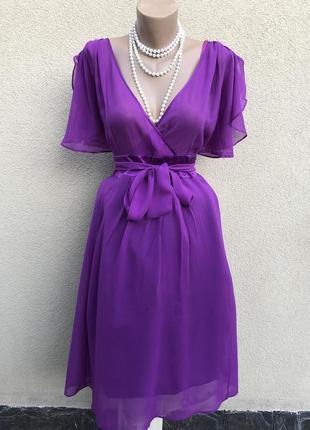 Легкое,романтическое,шёлк платье,сарафан с рюшами,воланами,большой размер