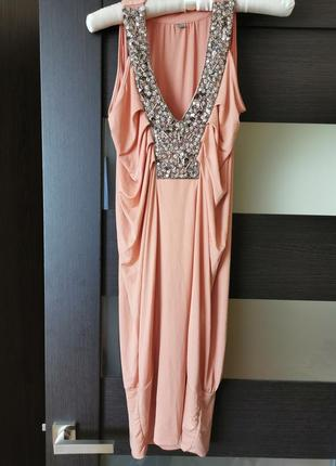 Нарядное платье туника