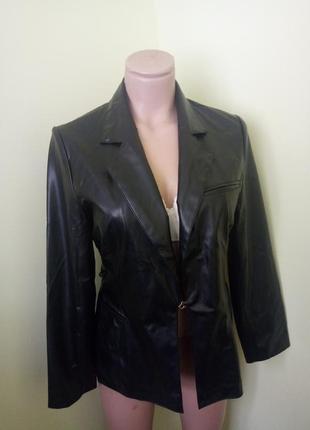 Брендовый пиджак под кожу