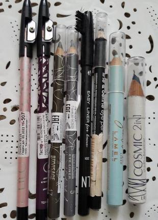 Набор карандашей для глаз luxvisage, lilo, lamel