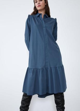 Новое zara платье s m 44 46 zara плаття