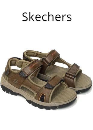 Мужские сандалии skechers relaxed fit оригинал