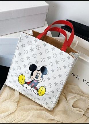 Милейшая сумочка с микки маусом1 фото