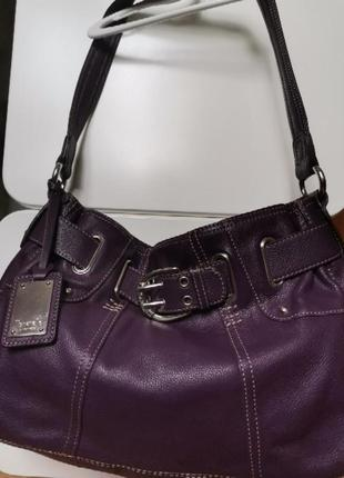 Кожаная сумка tignanello