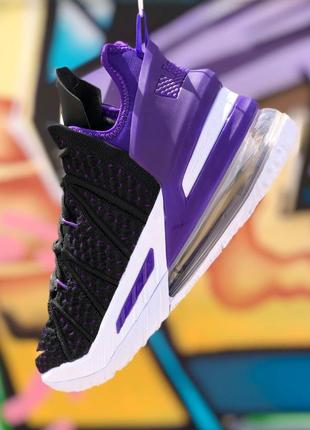 Nike lebron 18 uniseks кроссовки топ качества с воздушной подошвой