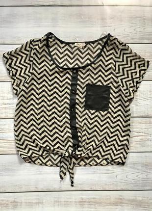 Актуальная блуза блузка футболка шифон