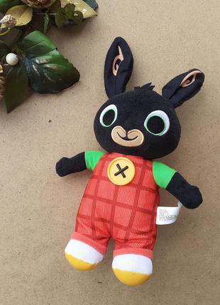Заяц, кролик бинг bing fisher-price mattel, интерактивная мягкая игрушка