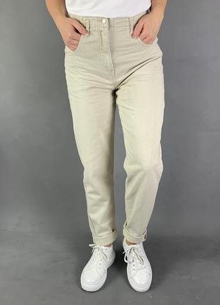 Мом светлые джинсы бойфренды mom