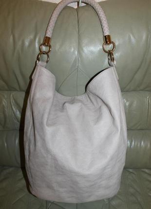 Стильная сумка-шоппер  marks & spencer