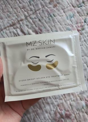 Маска на глаза hydra-bright golden eye treatment mask - mz