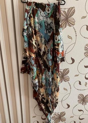 Manila grace большой красочный платок,италия
