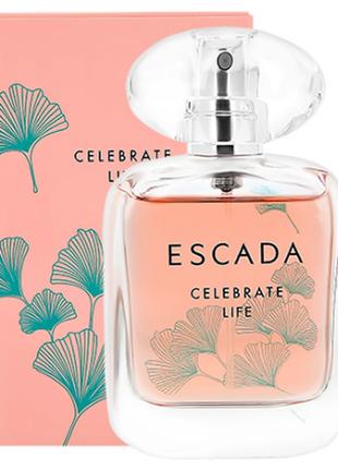 Celebrate life escada крутой пробник парфюма для женщин из дубая,парфуми, фруктовый аромат