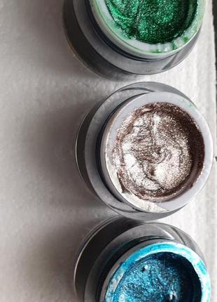 Набор гель-красок глиттеров для нарощенных