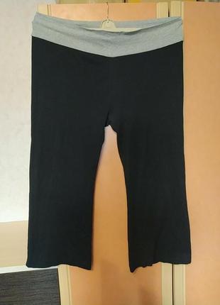 Трикотажные спортивные штаны большой размер