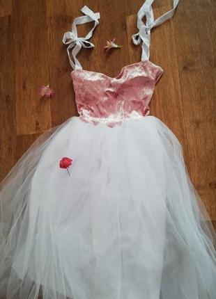 ❤️свадебное платье юбка из фатина (выпускное или для росписи)