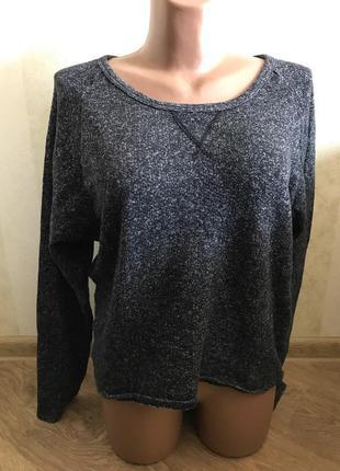 Классный серый свитерок