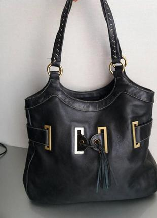 Шикарная кожаная сумка - 100% натуральная кожа