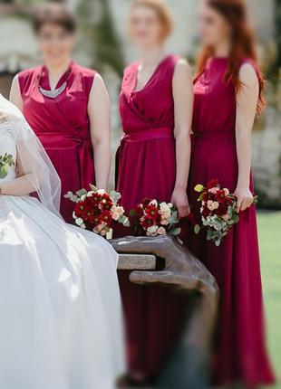 3 сукні для дружок нареченої