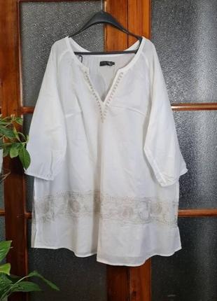 Блуза туника в стиле бохо