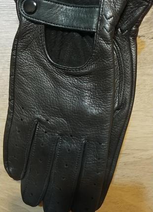 Кожаные перчатки италия