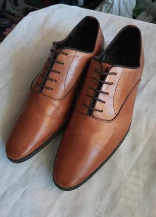 Мужские испанские туфли zarа man (оригинал) 43 р.