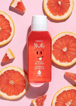🎈самая низкая цена🎈 ополаскиватель для полости рта с маслом грейпфрута nuki