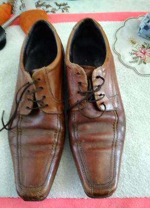 Туфлі шкіряні-